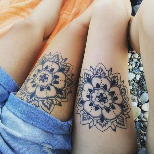 35 Amazing Mandala Tattoo Designs (25)