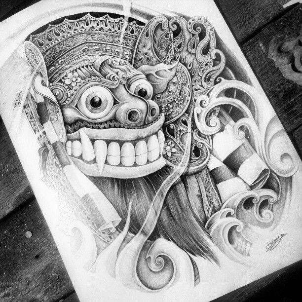 146 best images about tattoo on pinterest balinese bali indonesia and jokers. Black Bedroom Furniture Sets. Home Design Ideas