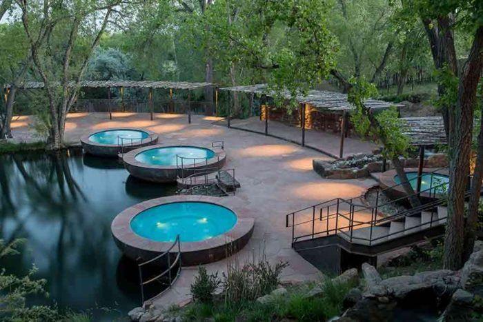 The Enchanting Sunrise Springs Resort In New Mexico Will Rejuvenate You Completely Sunrise Spring Resort Spa Resort