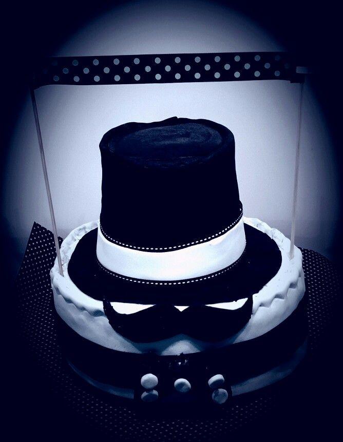 Monsieur Moustache cake