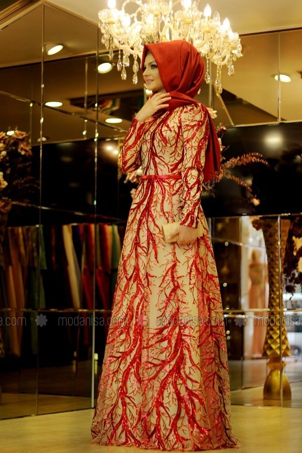 Budak Evening - Red, Muslim Evening Dresses. Modanisa your online muslim modest fashion store. Thousands of items at discounted prices. Start shopping.