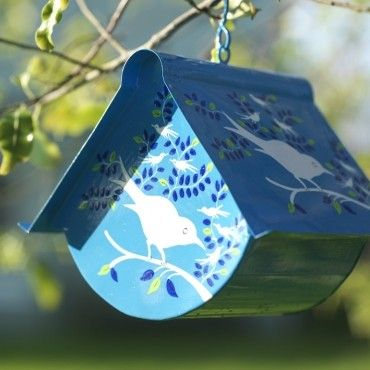 Nkuku Eva Hand Painted Bird House