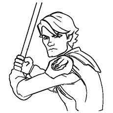 12 best colourins images on pinterest coloring pages for Luke skywalker coloring page