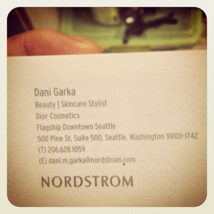 It's essential to get a card from your favorite stylist! We love to be here for you to answer any questions never hesitate to call or email!