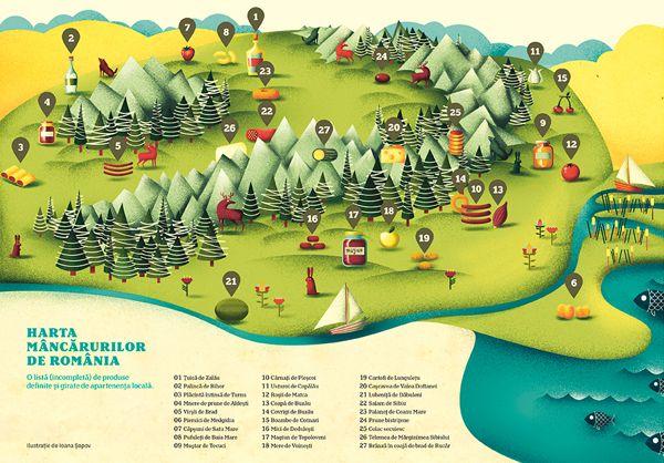 Romanian Food Map - Omnivor