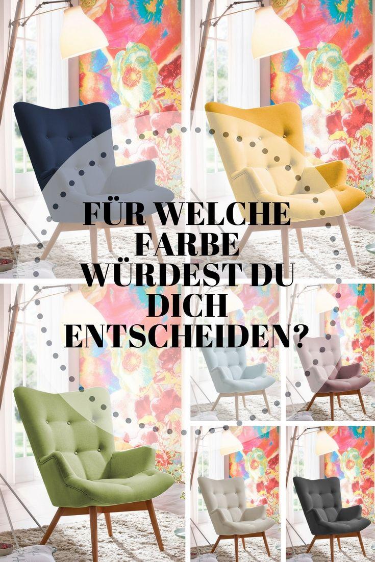 Geknöpfte Gemütlichkeit, Gehüllt In Sieben Wunderschönen Farben U2013 Aiko Von  Max Winzer. #MoebelLETZ