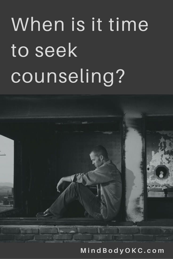 Is it time to seek counseling? Get help with this deeply personal decision at Mind Body OKC. via @MindBodyOKC