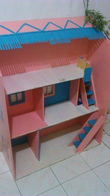 Rumah Barbie untuk Chika #dollhouse