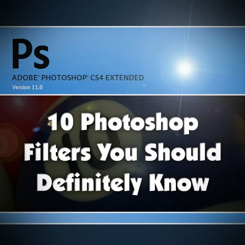 In this post we are going to look at 10 filters that I think every Photoshop user should know. Mastering these 10 tools will certainly help become a more advanced and rounded Photoshoper. Filters include Offset, High Pass, Polar Coordinates and 7 others.