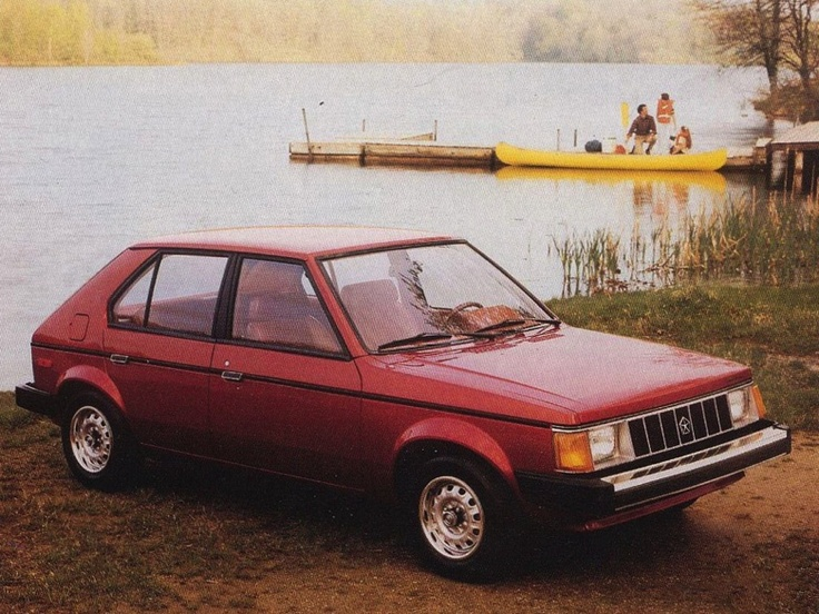 The ugly but functional Plymouth Horizon, circa 1988
