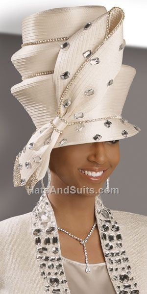 Donna Vinci Couture Church Hat H2046