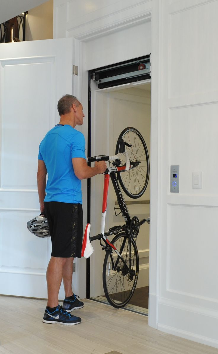 #Cyclists this one is for you. Parking your bike on any level becomes a lot easier with a Residential Home Elevator