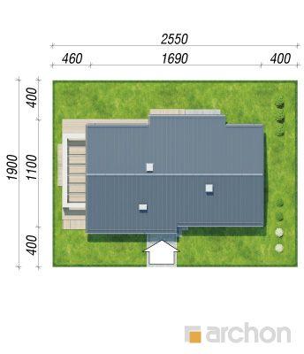 projekt Dom w peperomiach 2 sytuacja