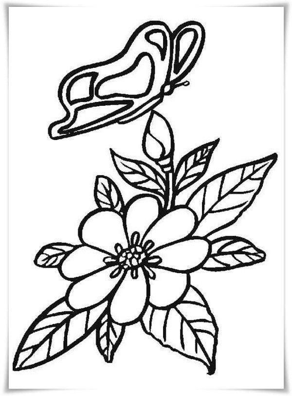 Ausmalbilder Blumen Ausmalbilder Ausmalen Blumen