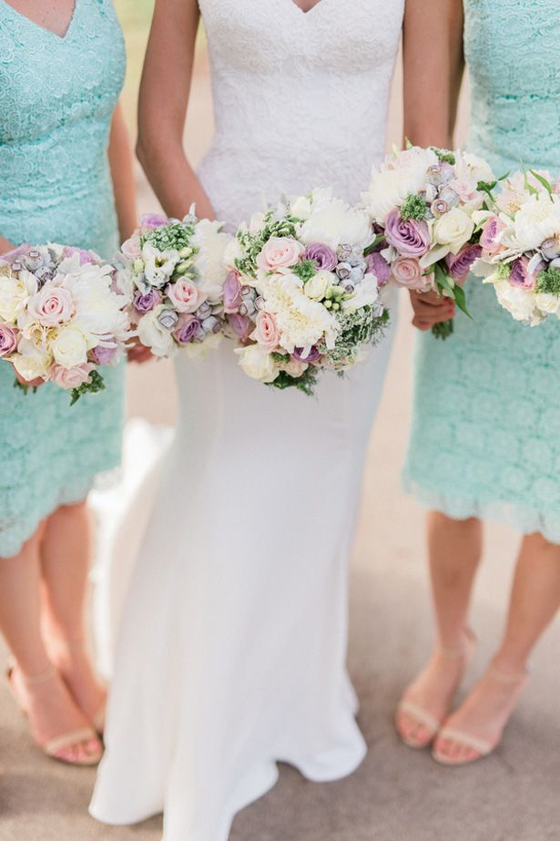 Love Birds, Lace and  Pastels Wedding Perfection