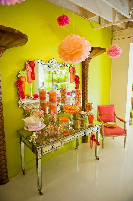 Wedding or Bridal Shower candy buffet table, ++++++Check Out+++++ toyastoystore.com for party planning and fun ideas ;)
