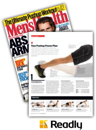 Suggestion about Men's Health September 2015 page 44