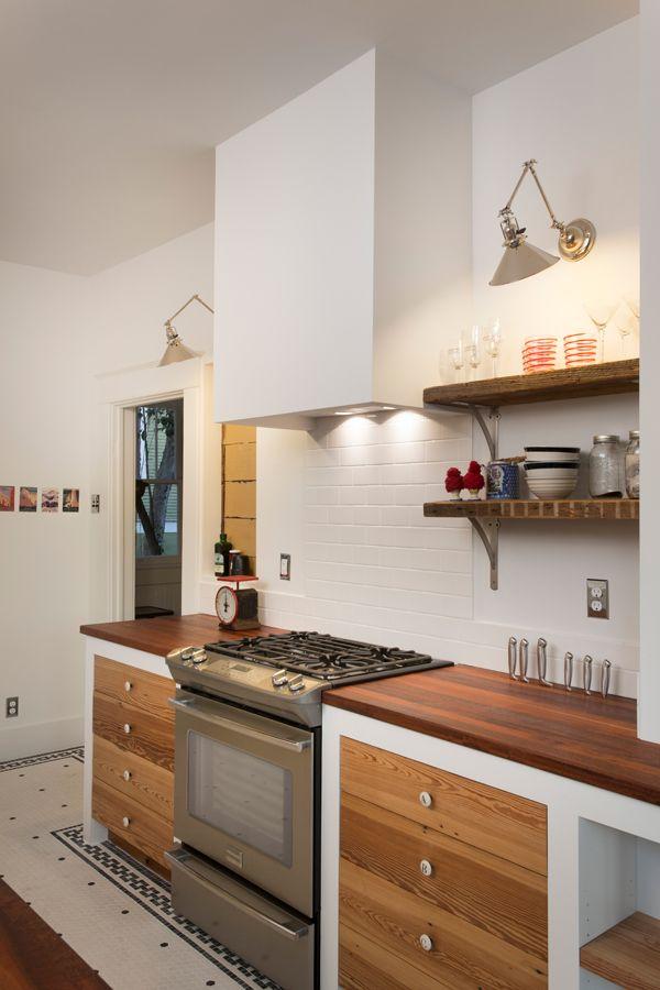 simple plaster range hood  Kitchen in 2019  Kitchen hoods Eclectic kitchen Kitchen hood design