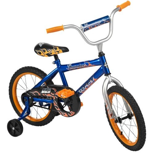 "Huffy Boys' Pro Thunder 16"" 1-Speed Bicycle  Price: $49.99"