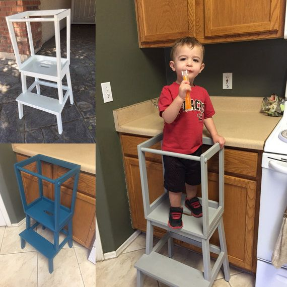 Diy Kitchen Helper: Learning Tower / Kitchen Helper By PfeifferMade2014 On