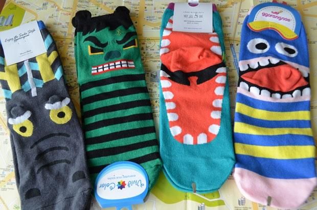 Monster Socks from Seoul - Korea