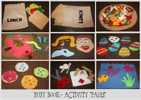 just Sweet and Simple: Busy Book