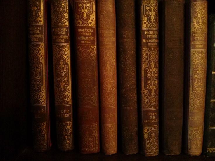 Hungary. Szigetmonostor.  Piros Lábos Fesztivál. Régi könyvek.  Autumn. Book. Books.