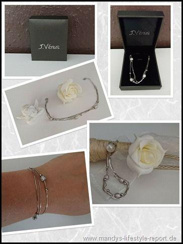 Damen Armband 925er Sterling Silber von J.Vénus - Kreiere Dein Leben-Mandys Lifestyle Report