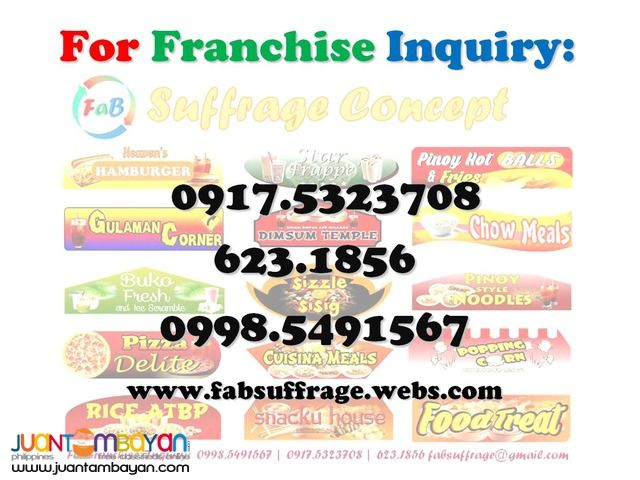 Business Franchising , We provide the Best Deal of Food Cart Franchise in the whole Philippines. Very affordable Food Cart Franchise Fast ROI 3...