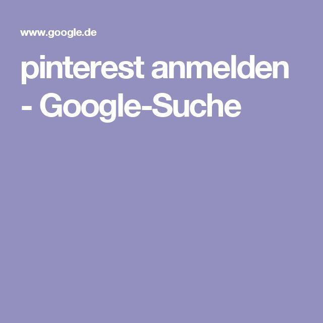 pinterest anmelden - Google-Suche