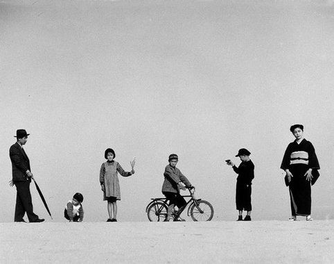 Sand Dunes / Seasons of the Children by Shoji Ueda  砂丘・子供の四季:植田正治