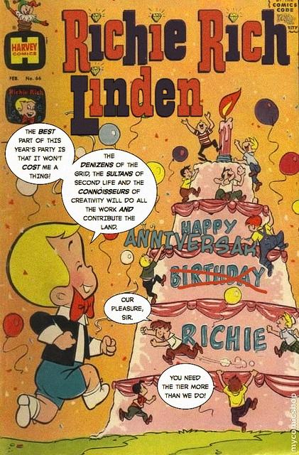 Richie Rich Linden Comic #4 by botgirlq, via Flickr