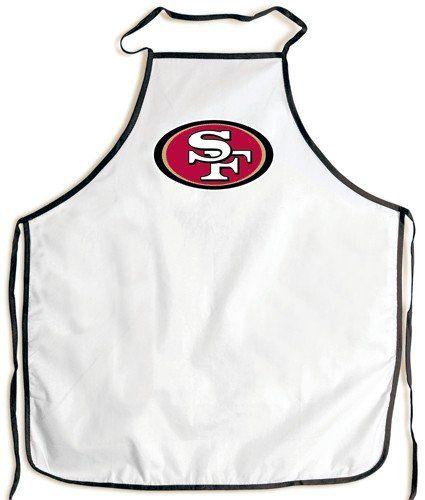 San Francisco 49ers Grilling BBQ Apron  http://allstarsportsfan.com/product/san-francisco-49ers-grilling-bbq-apron/  San Francisco 49ers Grilling BBQ Apron ITEMID: 099606790132 Sports Merchandise/Nfl