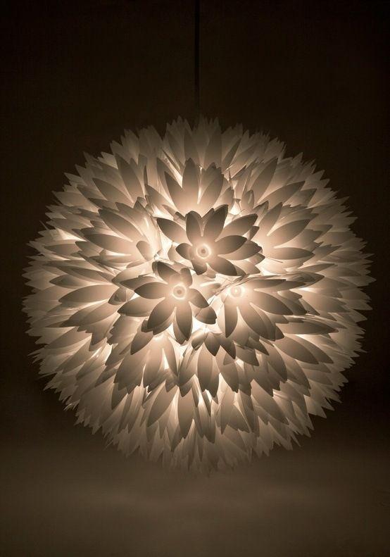 papierlampen blumen selber machen lampenschirm sammlung. Black Bedroom Furniture Sets. Home Design Ideas