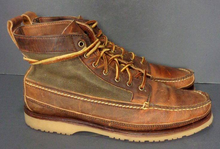 RED WING® 9185 WABASHA CHUKKA BROWN LEATHER BOOTS MEN'S SIZE 10 E Price:$179.99 #Motorcycle #Workboots #Laceupboots #boots  #fashion At Eagle Ages we love Lace Up boots. You can find a great choice of second hands & vintage Work & Lace Up Boots in our store. At https://eagleages.com/shoes/boots/men-boots/igor.html