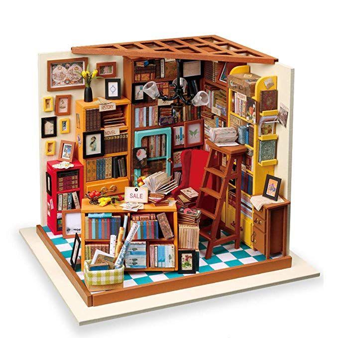 CUTEROOM DIY Wooden House Furniture Handcraft Mini Box Kit-Novel gift
