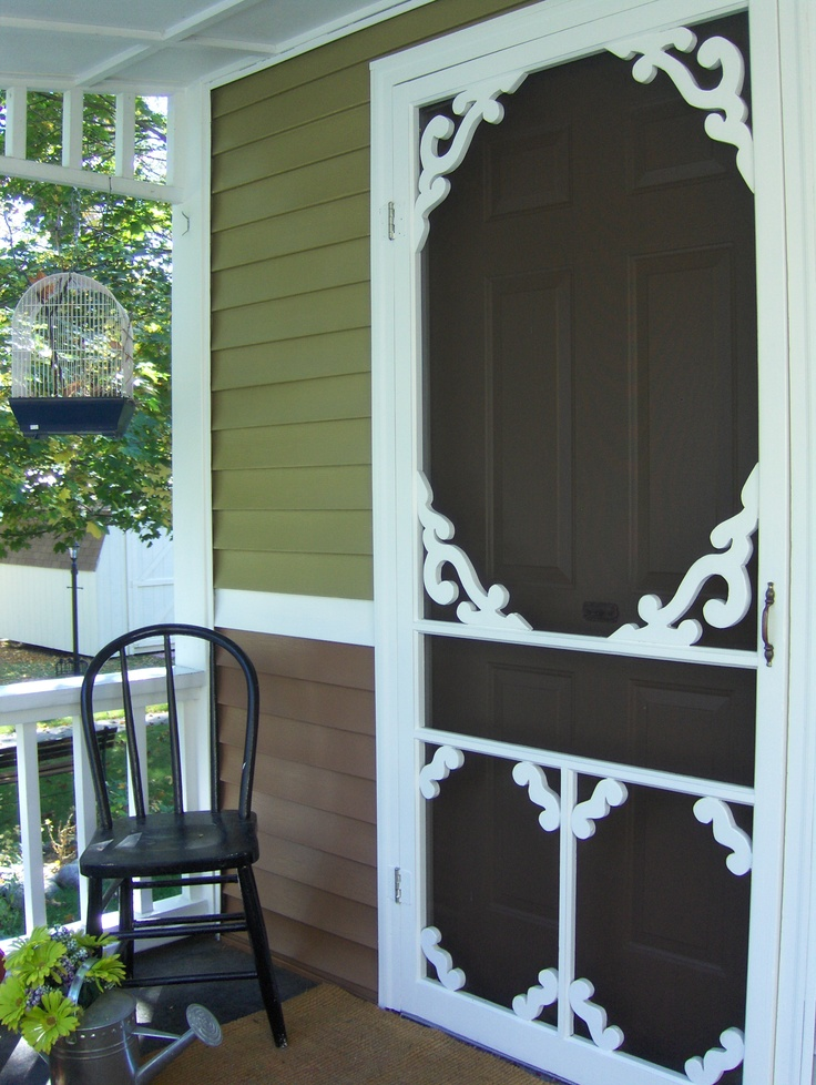 1029 best screen doors porches images on pinterest for Best sliding screen door