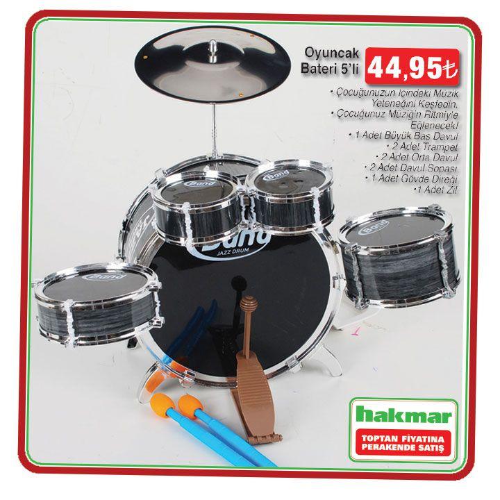 Çocuğunuzun içindeki müzisyeni çıkarmasına yardımcı olun. 8 Ocak'ta stoklarla sınırlı. #hakmar #ekspres #davul #seti #insert #muzik