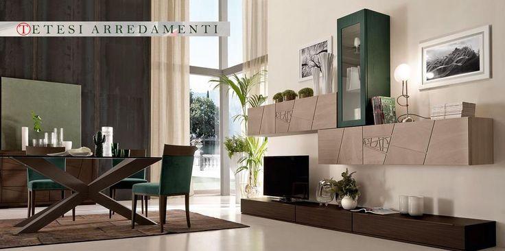 parete attrezzata provenzale bicolore : 17 Best images about LA TUA CASA 100% LEGNO on Pinterest Mobiles ...