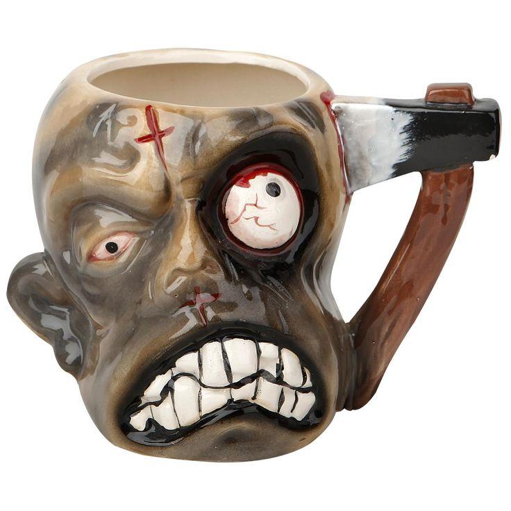 Kukaan ei enää vahingossa ota mukiasi kahvihuoneessa... http://www.emp.fi/zombie--keraaminen-muki/art_292961/?campaign=emp/fi/sm/pin/promotion/desk/15112014-292961