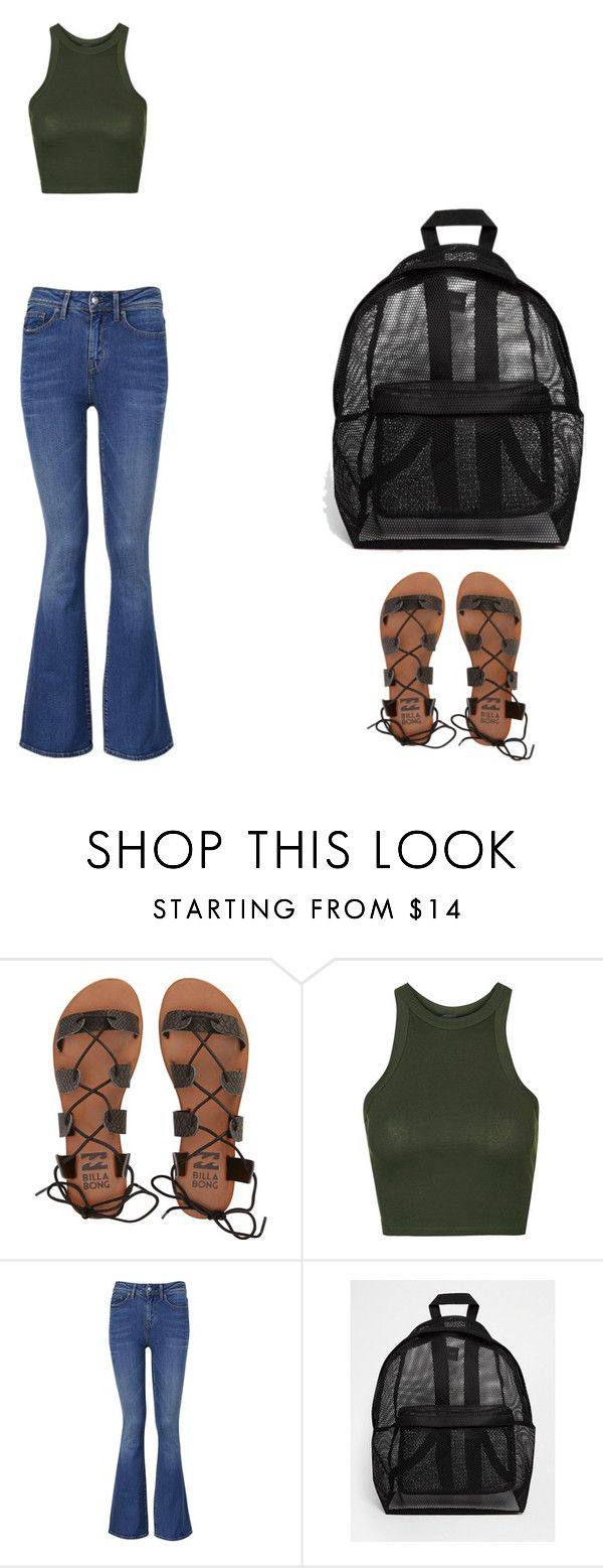 """""""Vacation Day 1"""" by tomi-lola ❤ liked on Polyvore featuring Billabong, Topshop, Tommy Hilfiger and ASOS"""