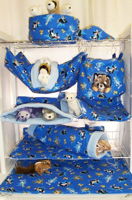 DIY+Ferret+Bed | ferret bedding made by Rosemary German