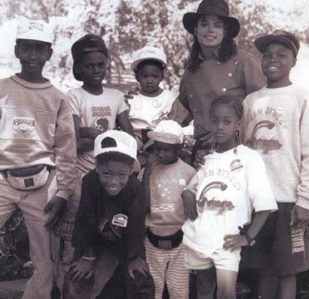 Michael and Black Kids