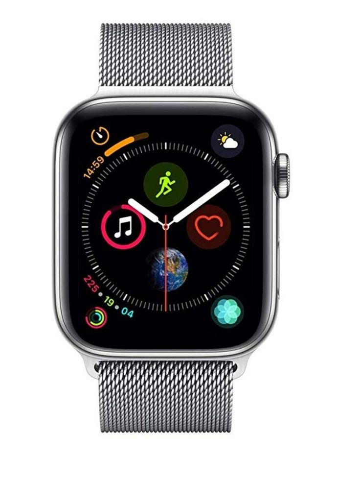 Apple Watch Series 4 (GPS + Cellular, 44mm) Stainless