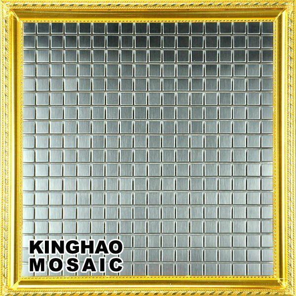 kinghao super deal wandtegels roestvrij aluminium composiet panelen keuken benodigdheden cp2301 paneel zilver behang(China (Mainland))