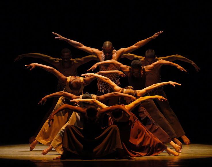 The Alvin Ailey American Dance Theater, performing their signature and most famous suite, Revelations.