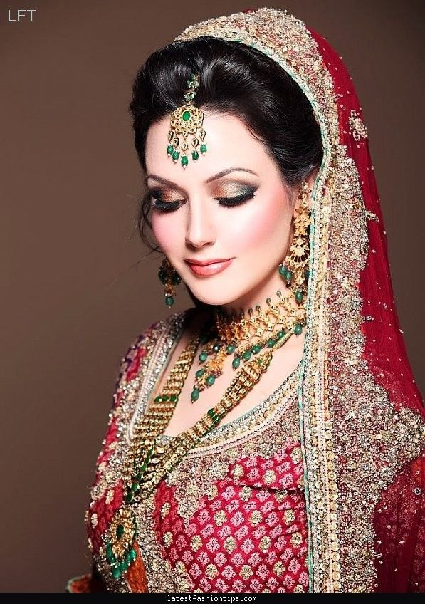 cool Bridal makeup pictures in Pakistan