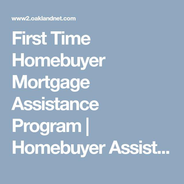 First Time Homebuyer Mortgage Assistance Program | Homebuyer Assistance | City of Oakland | California