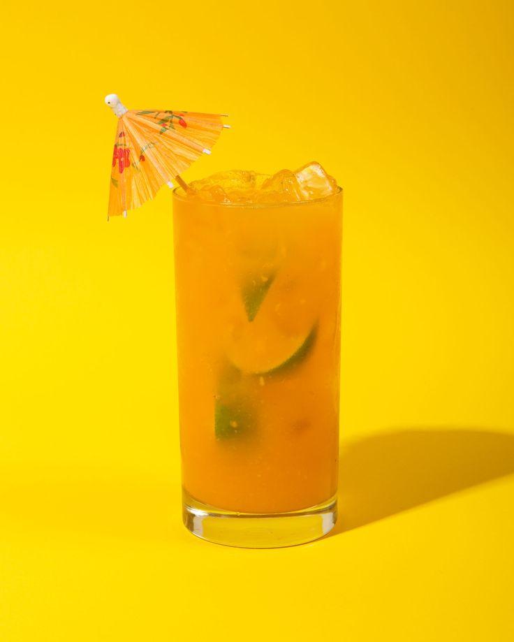 Papaya Passion Fruit Rum Punch – Chicano Eats