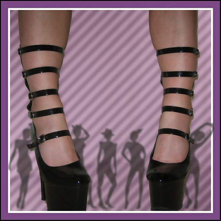Pleaser platform heels